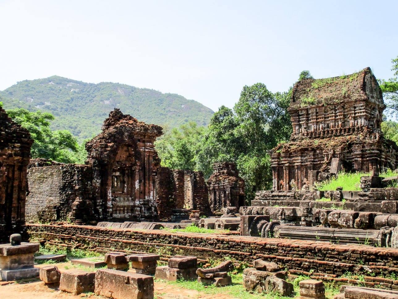 My Son - travelling in Vietnam