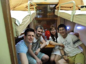 Riding about the Reunification Express