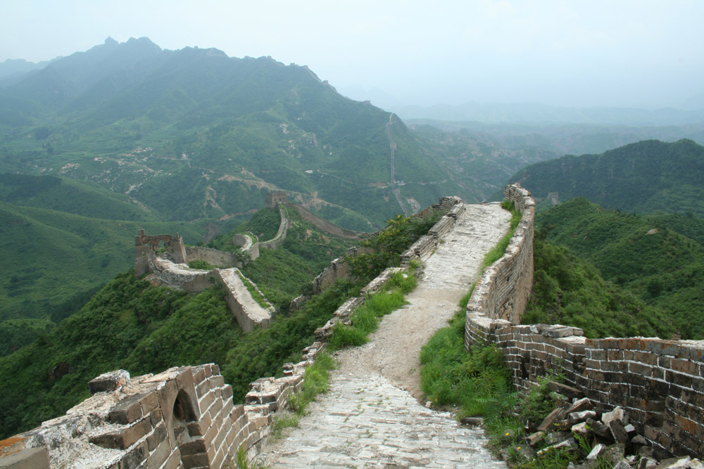 simatai which part of the great wall of china to visit