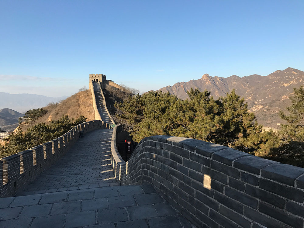 Badaling great wall of chin