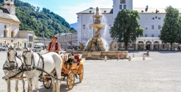 Salzburg's central square