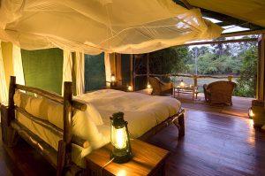 Mvuu Lodge Bedroom
