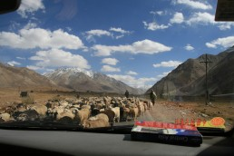 Pamir Highway Tajikistan Mongol Rally Route