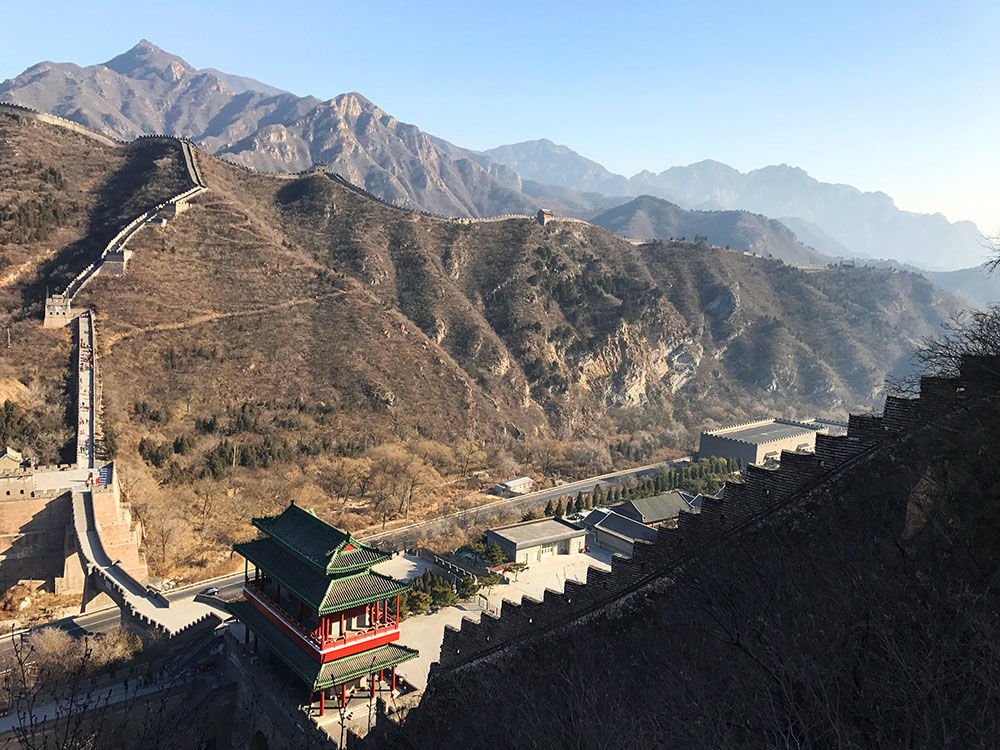 Juyongguan section of Great wall of China